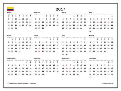 Calendario 2017 Para Imprimir Colombia Best 25 Calendario De Colombia Ideas On