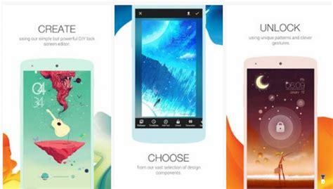 cool lock screen apps for android best lockscreen apps for android 2017 kitkat lollipop marshmallow