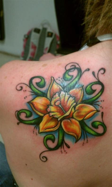daffodil tattoos daffodil tattoos