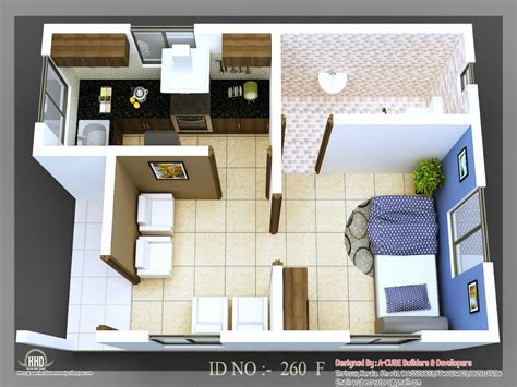 3 beautiful homes under 500 square feet small house plans under 500 sq ft 3d