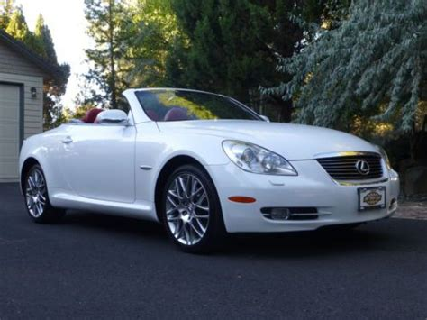 convertible lexus hardtop find used 2007 lexus sc430 pebble edition