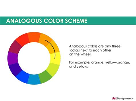 what is analogous colors analogous color scheme analogous colors