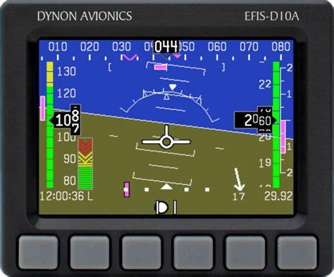 Monitor Lcd Skyview dynon avionics flight instruments efis d10a