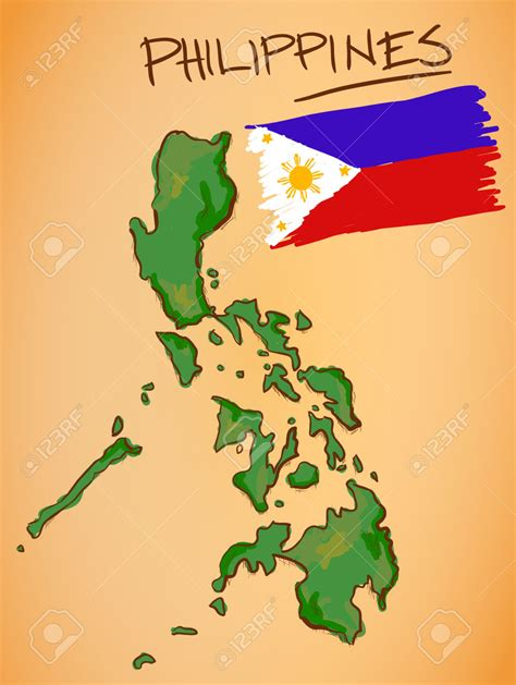 map of phillipines phillipines clipart philippine map pencil and in color