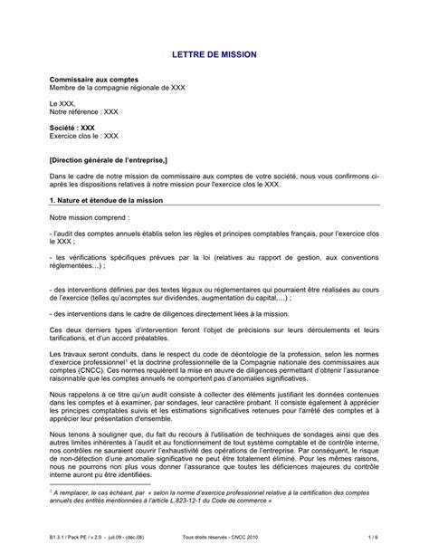 exemple de lettre de mission t 233 l 233 chargement gratuit documents pdf word et excel