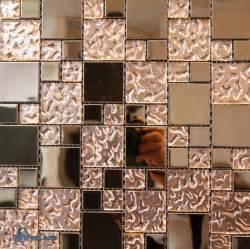 copper glass mosaic tile 2 x2 1 x1 tilestime com