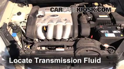 Kia Optima Transmission Problems Transmission Fluid Leak Fix 2006 2010 Kia Optima 2007