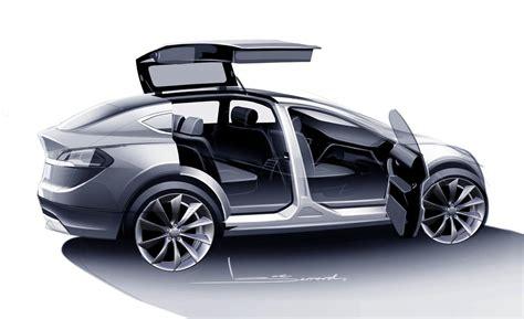 Tesla Model X 2015 Car And Driver