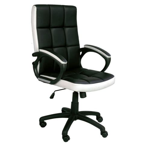 black and white desk chair waffle black and white office chair