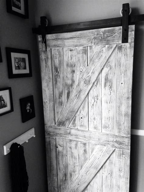 113 Best Interior Sliding Barn Doors Images On Pinterest White Interior Barn Doors