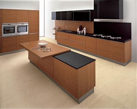 modern wood kitchens 25 modern kitchens in wooden finish digsdigs