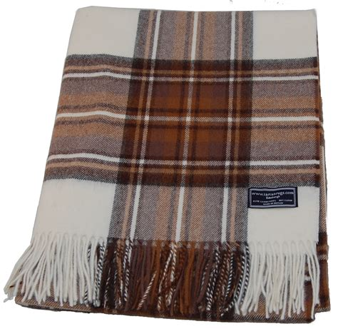 Lambswool Rugs by Dress Stewart Tartan Lambswool Travel Rug