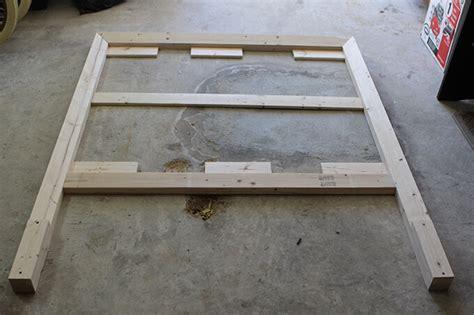 Bed Frame Brace Diy Headboard For 50 Gray House Studio