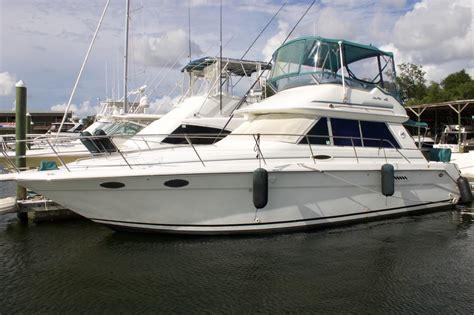 1995 used sea ray 370 sedan bridge flybridge boat for sale - Sea Ray Boats With Flybridge