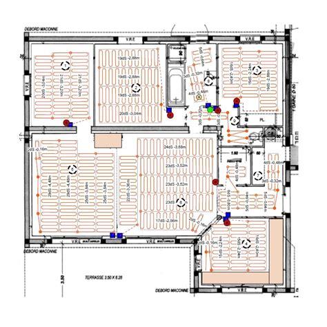 chauffage au sol electrique 2244 installation chauffage par le sol infracable deleage