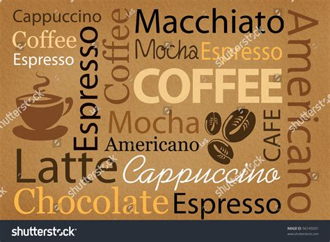 wallpaper untuk coffee shop wallpaper decorate coffee coffee shop words stock photo