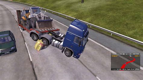euro truck simulator 2 mod game crash accident and calling emergency road service driving your