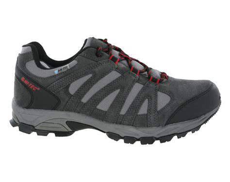lightweight hiking shoes new mens hi tec alto low waterproof lightweight hiking