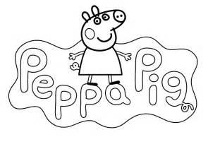 dibujos colorear peppa archivos dibujos dibujar