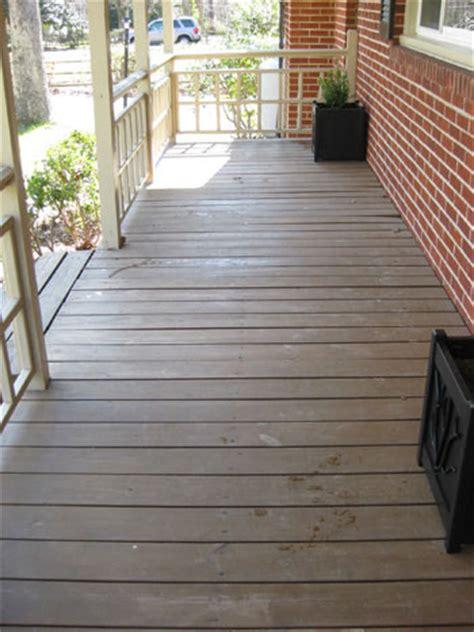 Wood Porch Paint how to paint a wood deck or front porch we did subtle