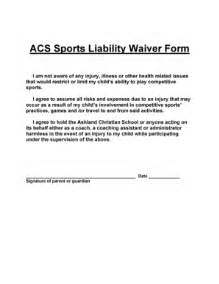 injury disclaimer template liability release template liability release form 10