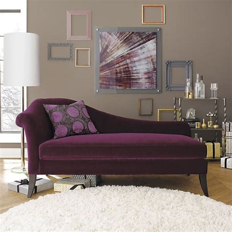 purple fainting couch love this domicile decor pinterest