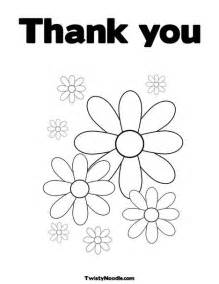 thank you coloring pages thank you card coloring page coloring page free