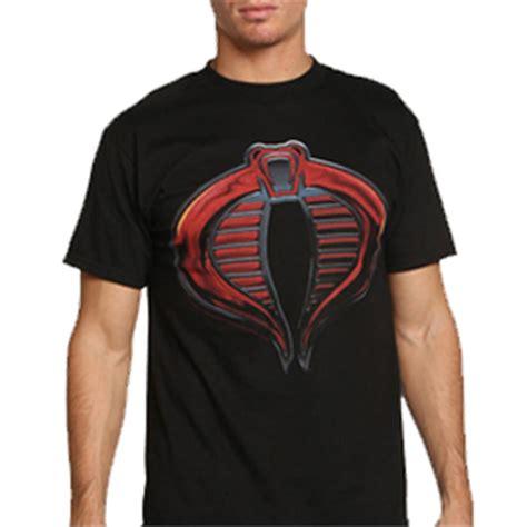 Tshirt Cobra Logo Dealdo Merch the rise of cobra by g i joe loudtrax merch