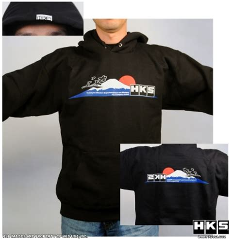 Hoodie Hks hks hoodie avb sports car tuning spare parts