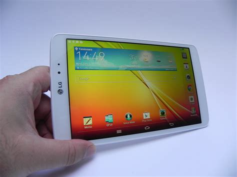 small android tablet lg g pad 8 3 review probably the best small android tablet of the year tablet news