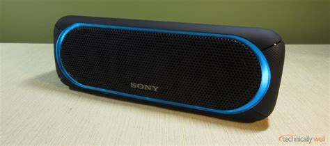 Speaker Wireless Bluetooth Sony Srs Xb30 sony srs xb30 bluetooth speaker review technically well