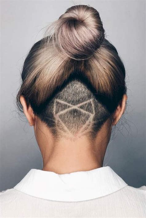 undercut tattoo lovely undercut hairstyle for ideas 49 fashionetter