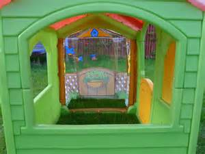 tikes garden cottage tikes tykes garden cottage evergreen playhouse ebay
