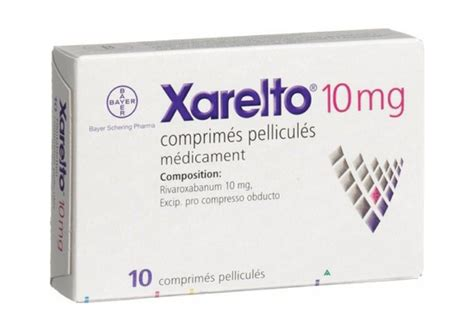 Xarelto 10 Mg Tablet 10 S xarelto tab anticoagulant rx rivaroxaban best deals at yourmedikart
