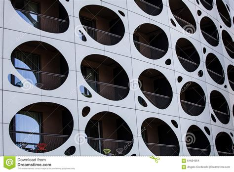 Outer Wall Design Architecture by Outer Wall Modern Building Balconies With Holes Porthole