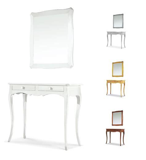 consolle con specchio per ingresso mobili da arredo mobile marilyn consolle con specchio