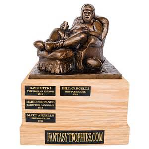 armchair trophy perpetual football trophy the armchair