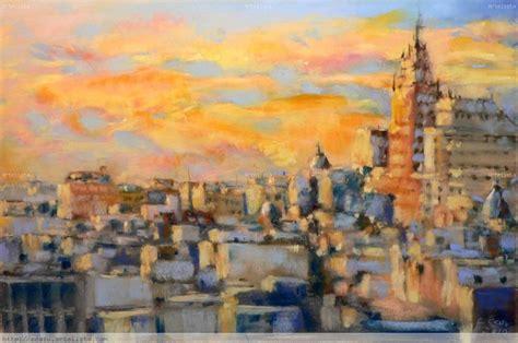 imagenes urbanas abstractas tejados de madrid carlos casu bravo artelista com