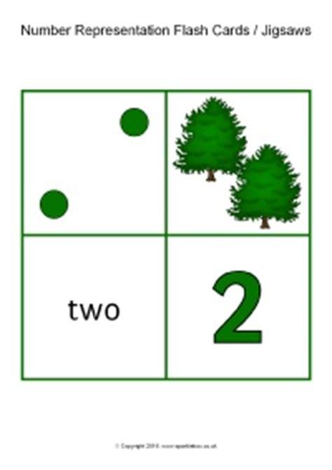 sparklebox printable number cards number representation flash cards jigsaws 1 20 sb11393