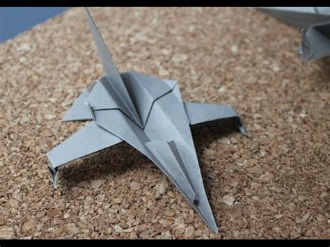 how to make a kirigami a type of origami f 16 falcon