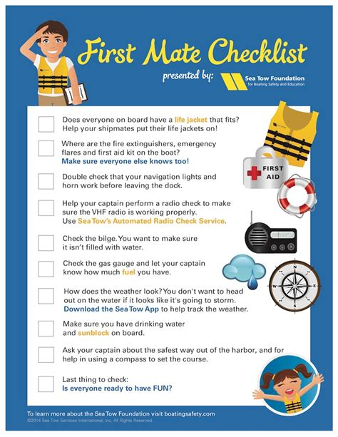 boat safety gear checklist smoothing the waters safe boating tips from the sea tow