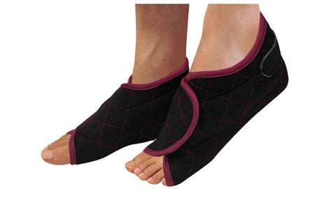 hot cold therapeutic comfort wrap hot or cold therapeutic foot wrap by z comfort groupon