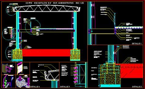 detail steel building dwg detail  autocad designs cad