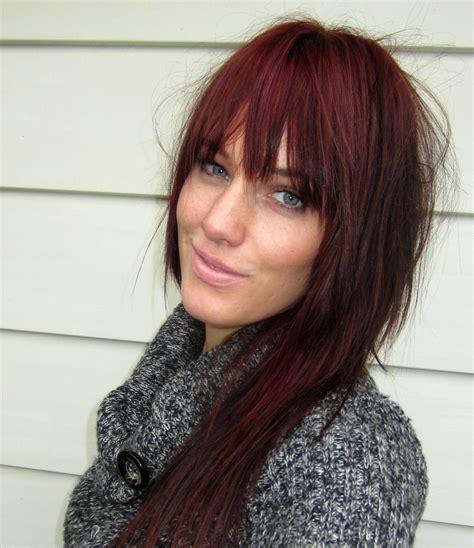 deep burgundy brown hair color burgundy hair beauty blog project burgundy hair