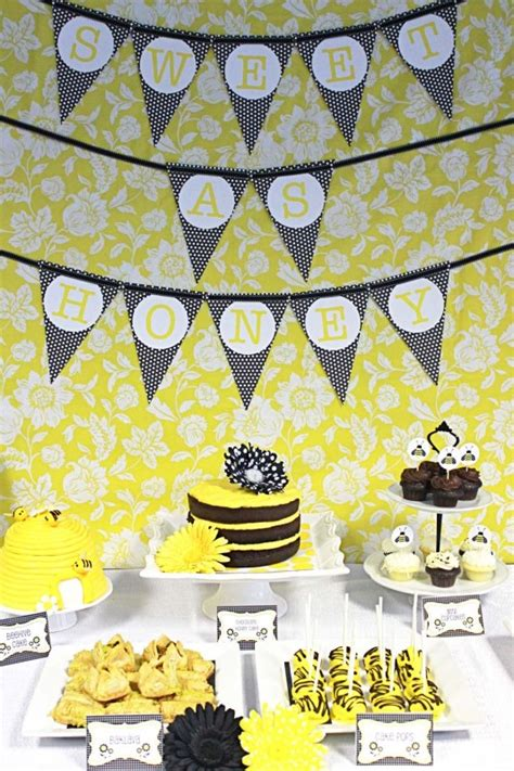 Bumble Bee Themed Baby Shower by Baby Shower Bumble Bee Decorating Ideas Baby Shower