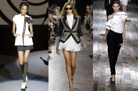 modas con blanco y negro la moda femenina apuesta por el blanco y negro