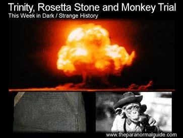 rosetta stone trial trinity rosetta stone and monkey trial the paranormal guide