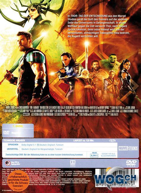 film thor deutsch thor tag der entscheidung dvd filme world of games