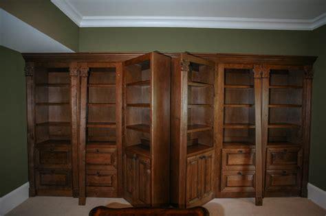 Hidden gun safe Traditional Home Office Atlanta by Cabinets Of Atlanta Inc.