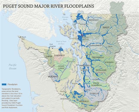 Map Of Puget Sound And by Floodplain Projects Open Doors To Fewer Floods And More
